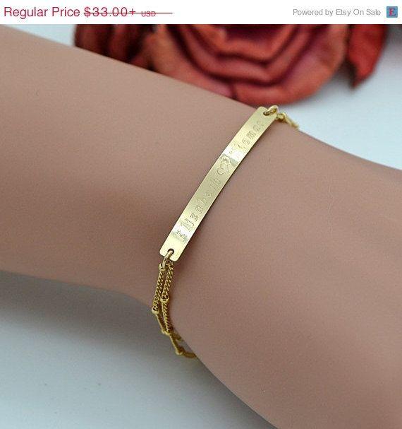 Engraved Charms For Bracelets: Best 25+ Engraved Bracelet Ideas On Pinterest