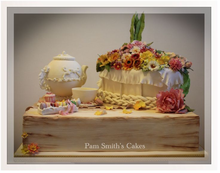 Serenity...argento campionati nazionali Cake Design 2013