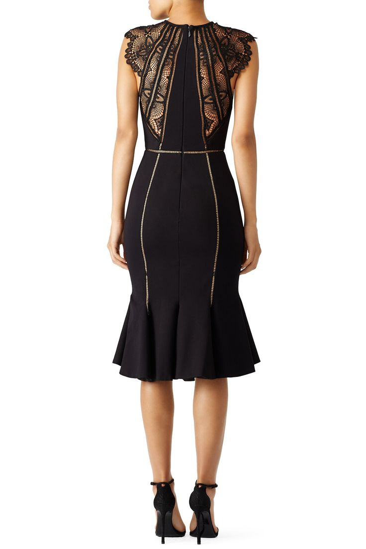 Black Gemini Dress by CATHERINE DEANE for $125 - $140 | Rent the Runway