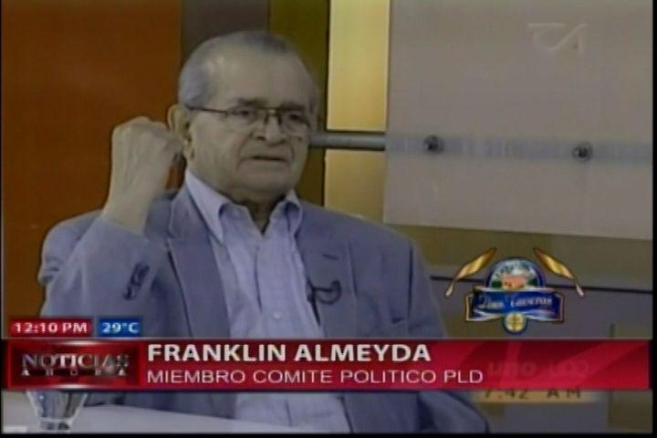 Franklin Almeyda Dice: Primarias Abiertas Serian Caras Y Caóticas Para RD