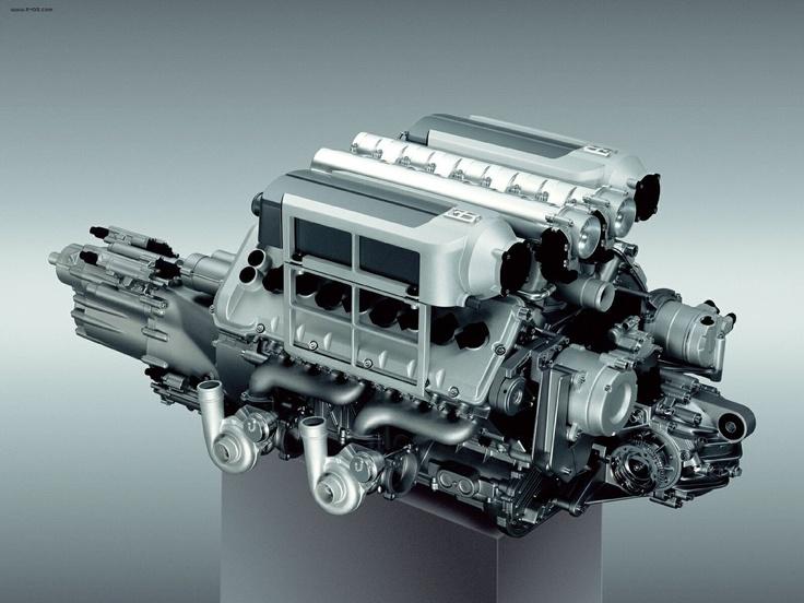 Bugatti Veyron Engine