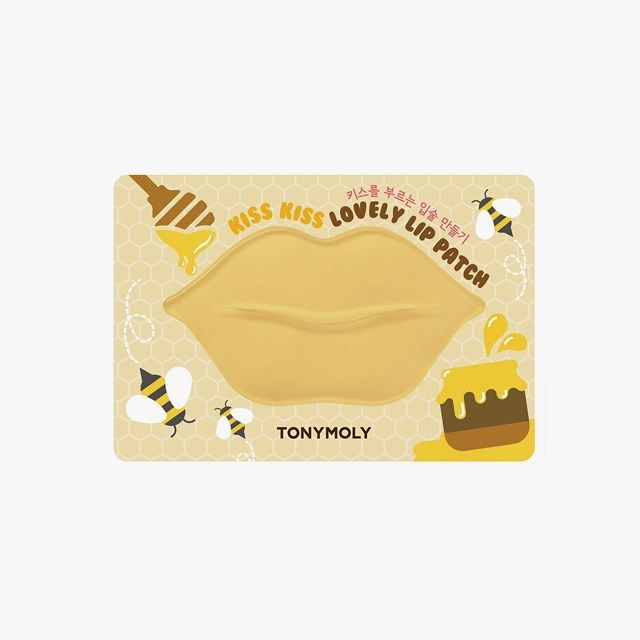 The Best Lip Masks for Softer, Smoother Lips   Vogue -- TONYMOLY Kiss Kiss Lovely Lip Patch in Honey