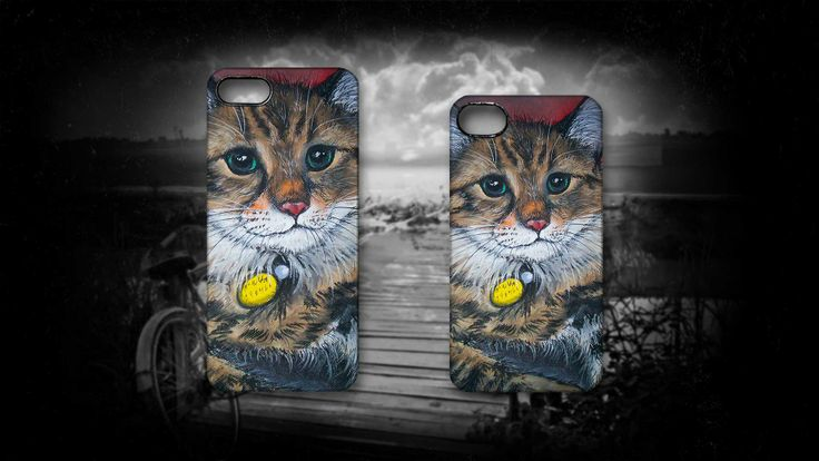 'Purrfect Pose' by Sally Ford #Cats #Animals #Art #iPhone #Cases #Art #Artmobilis