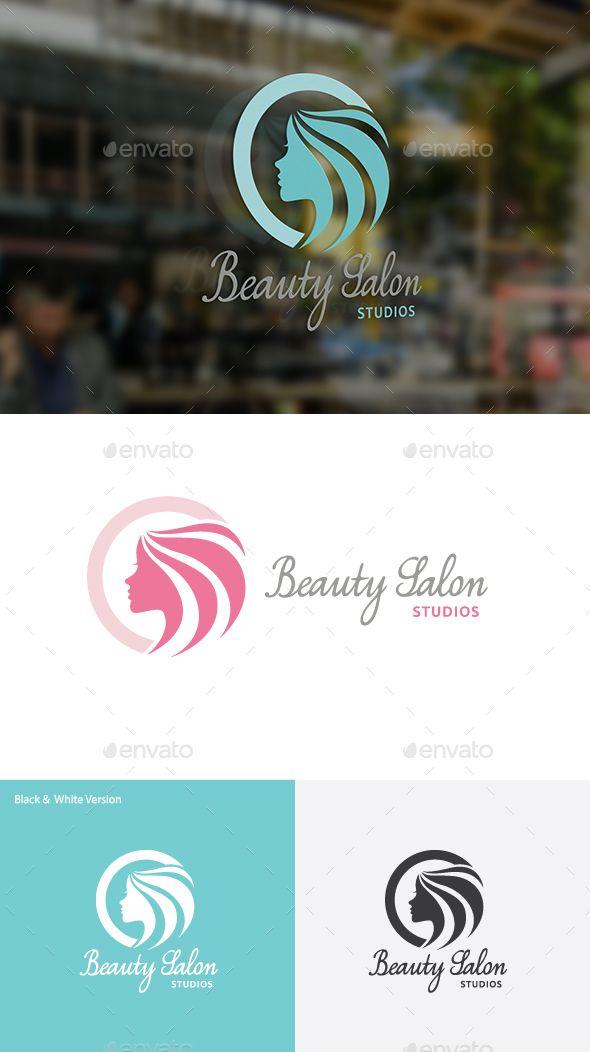 Beauty Salon Logo Template Vector EPS, AI. Download here: http://graphicriver.net/item/beauty-salon/14465269?ref=ksioks