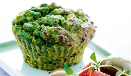 Muffins - oppskrift med spinat | I FORM