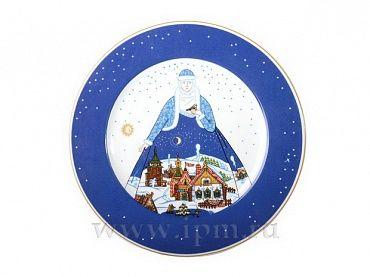 Тарелка Европейская Снежная история 265 мм арт. 80.80790.00.1