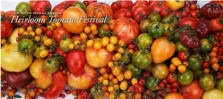 エアルームトマト フェスティバル in ソノマ