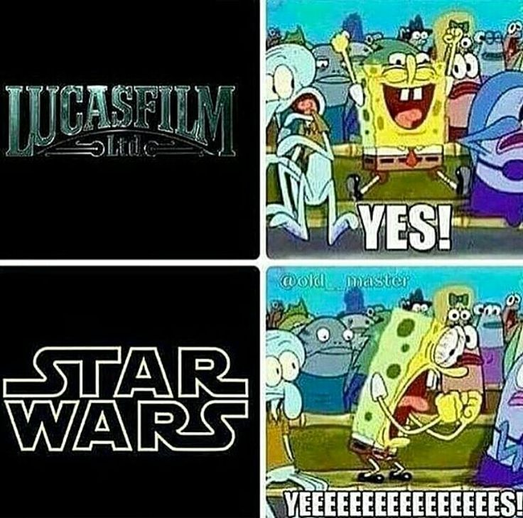 Me every time a Star Wars movie starts
