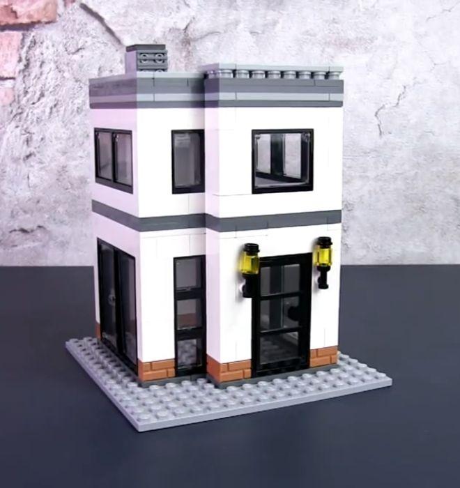 Small Brick City Youtube Lego House Lego Display Lego