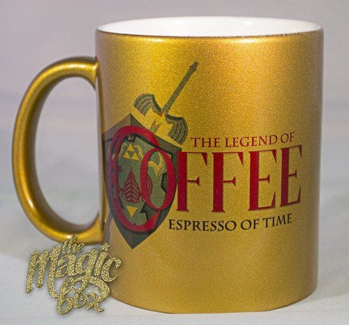The Legend of Coffee: Espresso of Time Mug Ideal Christmas present for my uncle.