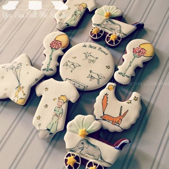 Baby Shower cookies based on the book Le Petit... - You Can Call Me Sweetie