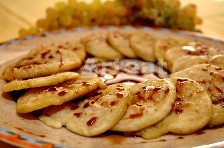 #Συνταγή για #Τηγανίτες με #Πετιμέζι.