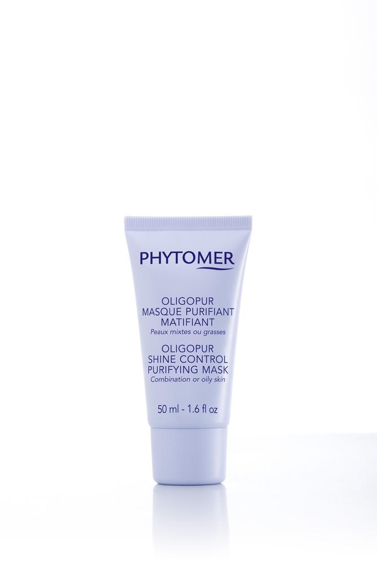 Masque purifiant matifiant utilisé pour les soins Oligopur.