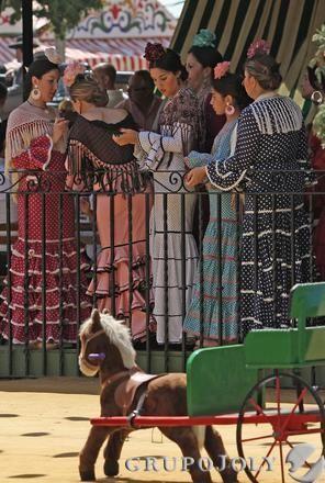 Las imágenes del jueves de Feria