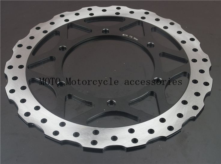 63.10$  Buy here - http://alidhn.worldwells.pw/go.php?t=32776896198 - Flower Motorcycle Front Brake Disc Rotor For Kawasaki Ninja 250 EX250 2012 2013 2014 2015 2016 Motorbike Parts Front Brake Disc