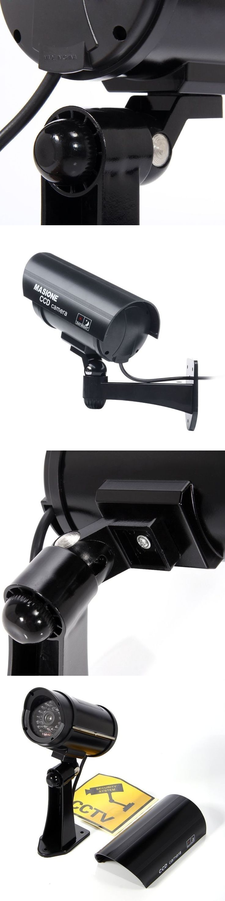 Dummy Cameras: Prosshop Bullet Dummy Fake Surveillance Security Dome Camera Simulation Monitor -> BUY IT NOW ONLY: $38.25 on eBay!