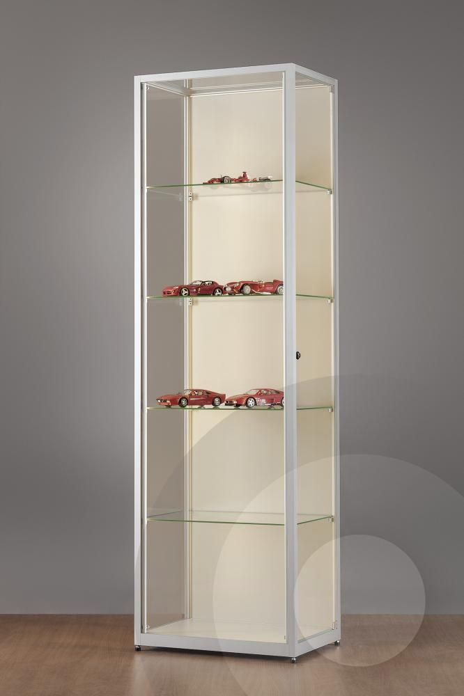 Amazing Wall Retail Display Cabinet with LED Strip Lights mm