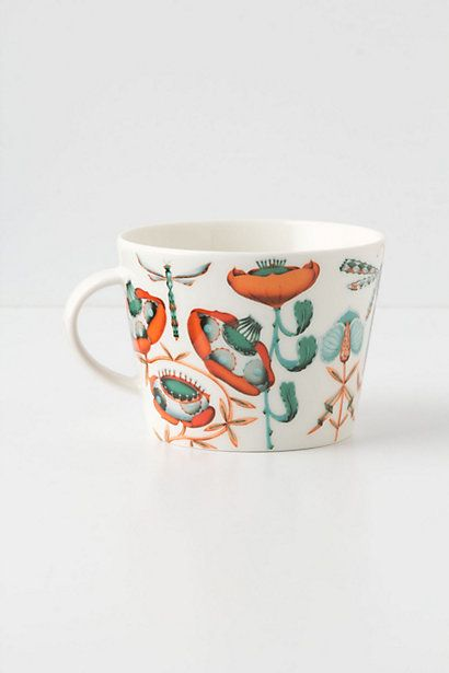 Anthropologie's mod contribution to the tea drinkers of the world.