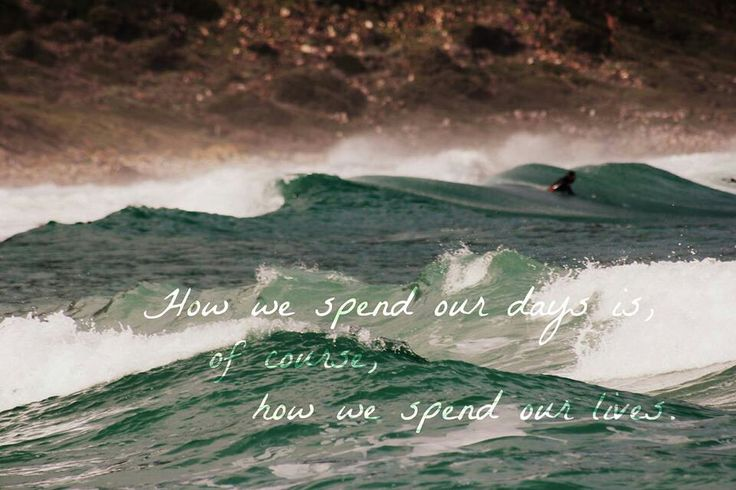 A favourite quote on a photo of my husband surfing at Witsands, South Africa.