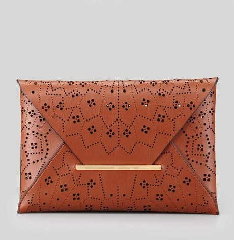 Harlow Lasercut Envelope Clutch Bag
