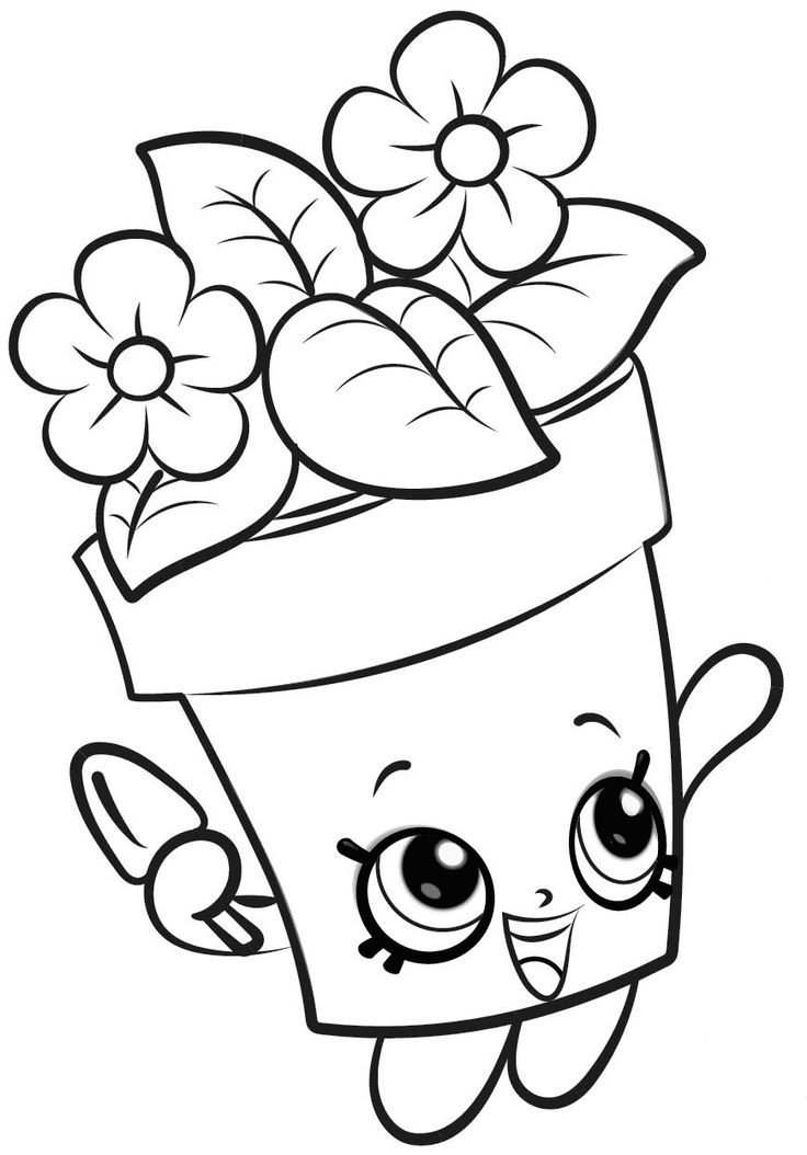 53 best Shopkins Coloring Pages images on Pinterest  Coloring