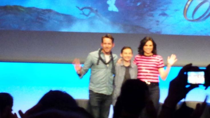 Lana Parrilla, Jared Gilmore and Sean Maguire, Fairy Tales Xivents convention II Part 7 - June 22, 2014