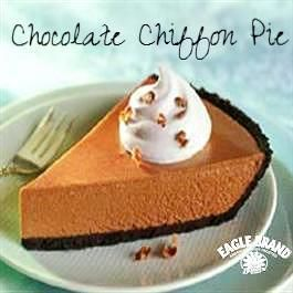 Chocolate Chiffon Pie from Eagle Brand®