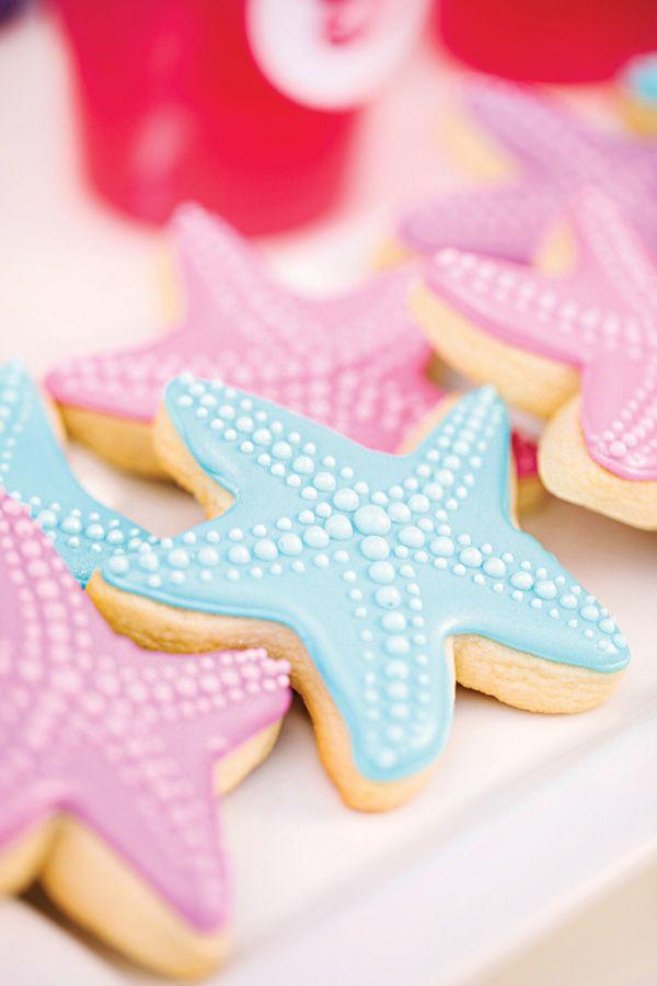 Starfish cookie // Galleta de estrella de mar