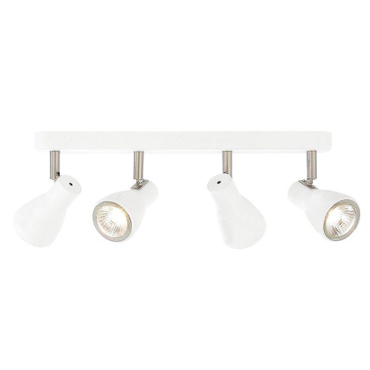 Kollig 4 Light Ceiling Spotlight Bar - White