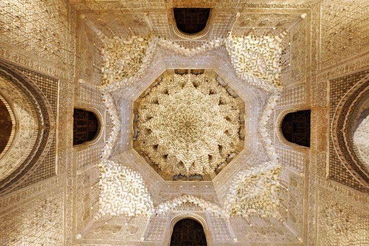 Alhambra, Grenada - perceptual metamorphosis (itt byzantijnse theorie Extramission) - Contemplative model of perception (Kant) - Leidt naar Goddelijke oneindigheid