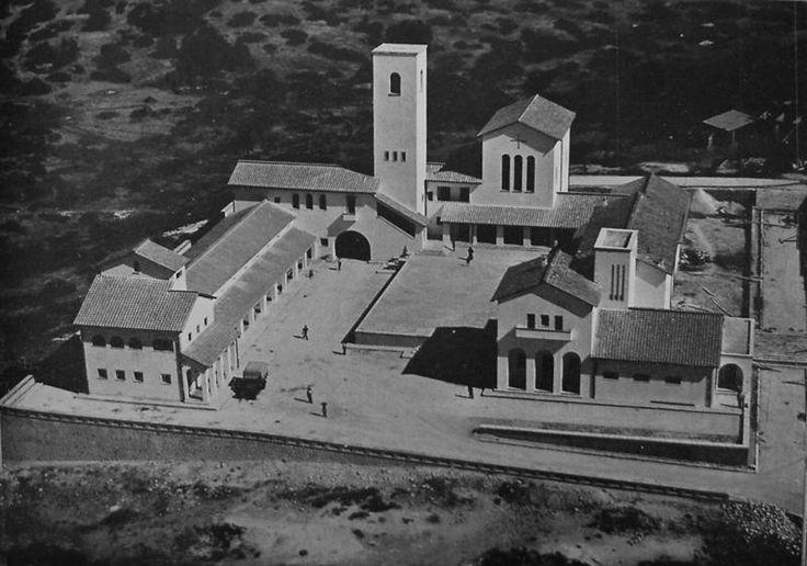 LY, El Bayyada (Centro rurale D'Annunzio). Architect Florestano Di Fausto, 1938.