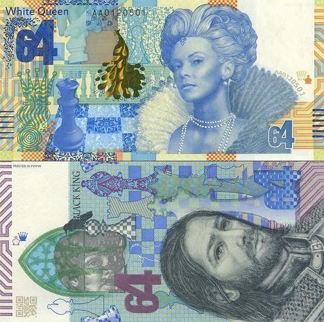 Banknoty testowe PWPW