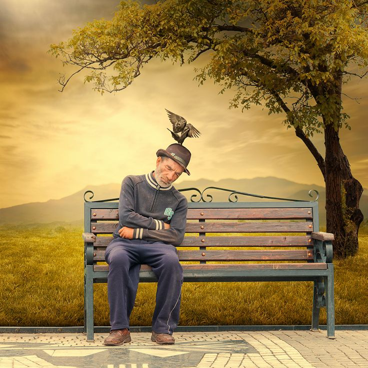 Photograph counter weight by caras ionut bench at the for Buy digital art online