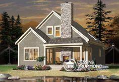 Plan de maison no. W3963 de DessinsDrummond.com
