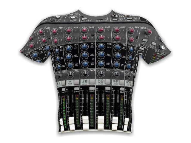 "All over T-Shirt design ""Mackie Mixer"" by Dan Manning. Create your own T-Shirt or open your own shop."