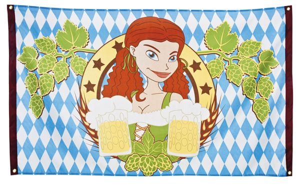 Fahne Bayern Oktoberfest Flagge Banner Festzelt Dekoration Deko ...