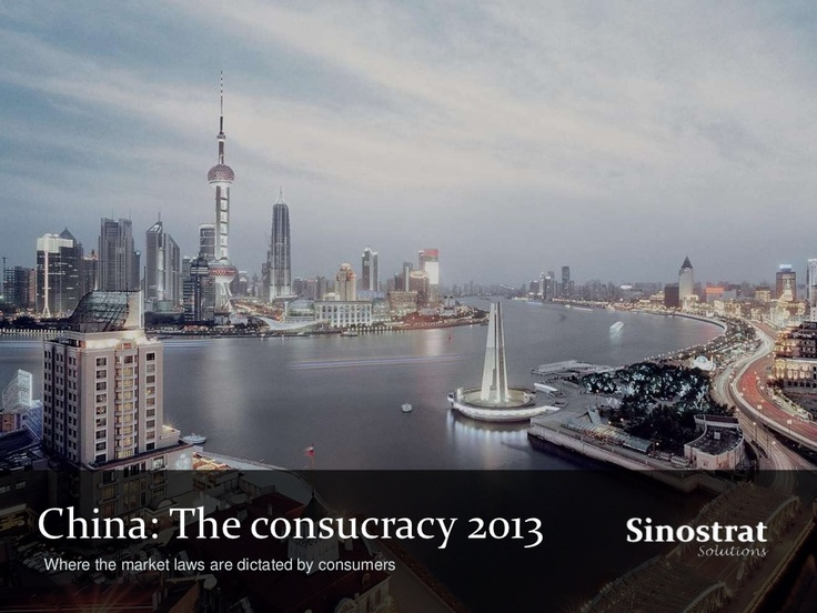 the-consucracy-for-2013 by julien1985 via Slideshare
