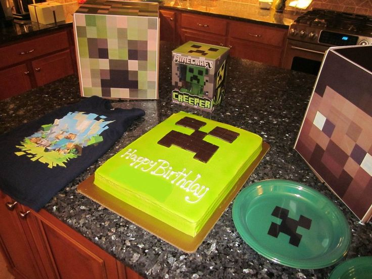 Minecraft Birthday Party Favors