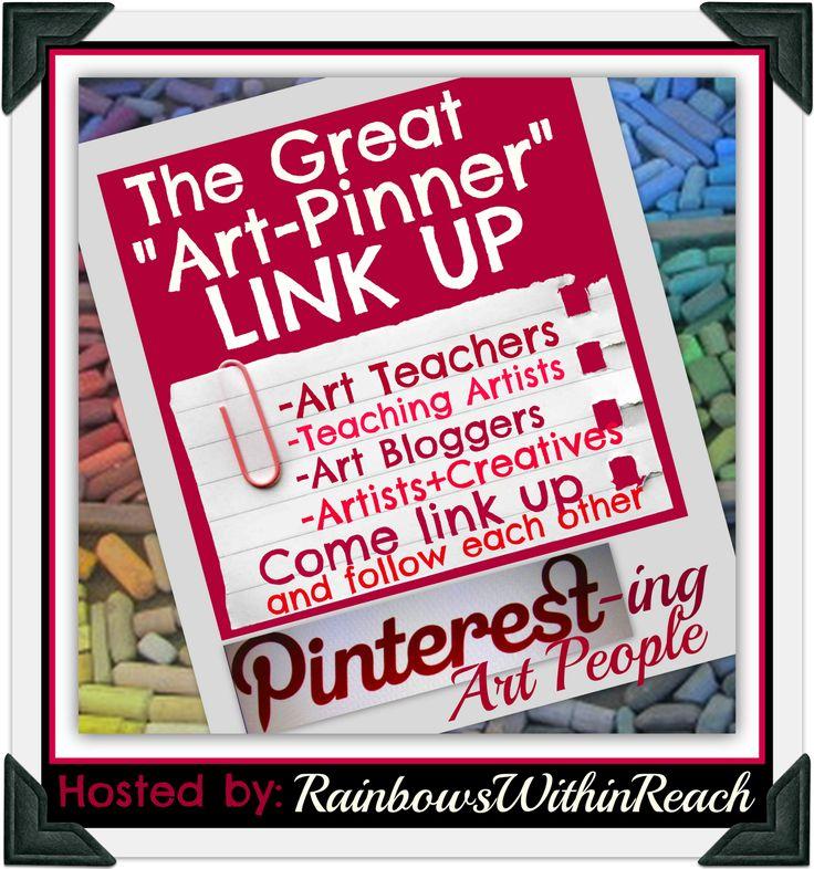 Pinterest Directory for Artists, Art Teachers, Teaching Artists + Creative types LINKUP (via RainbowsWithinReach): Art Classroom, Art Lessons, Creative Types, Art Teacher, Types Linkup, Teaching Artists, Art Education, Pinterest Directori, Art Rooms