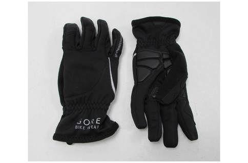 Gore Bike Wear Power Windstopper Soft Shell Women's Gloves Medium  (Ex-Demo / Ex-Display) | Black - M