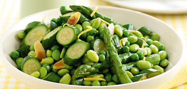 Zesty Spring Greens Recipe - Sainsbury's