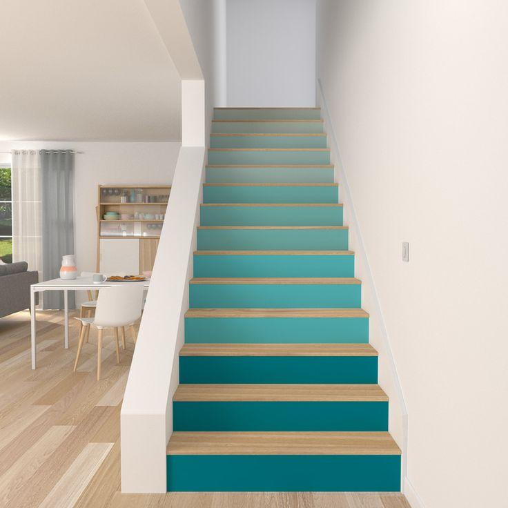 17 meilleures id es propos de maisons deux tages sur for Escalier decoration maison