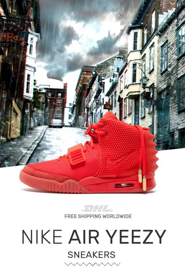 d0f43d2f85b Order Nike Air Yeezy PS Red October at the best price  sneakers  fashion