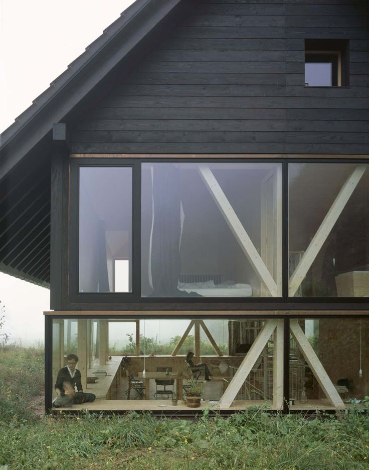 Pascal Flammer Architect solidified home's connection with nature.