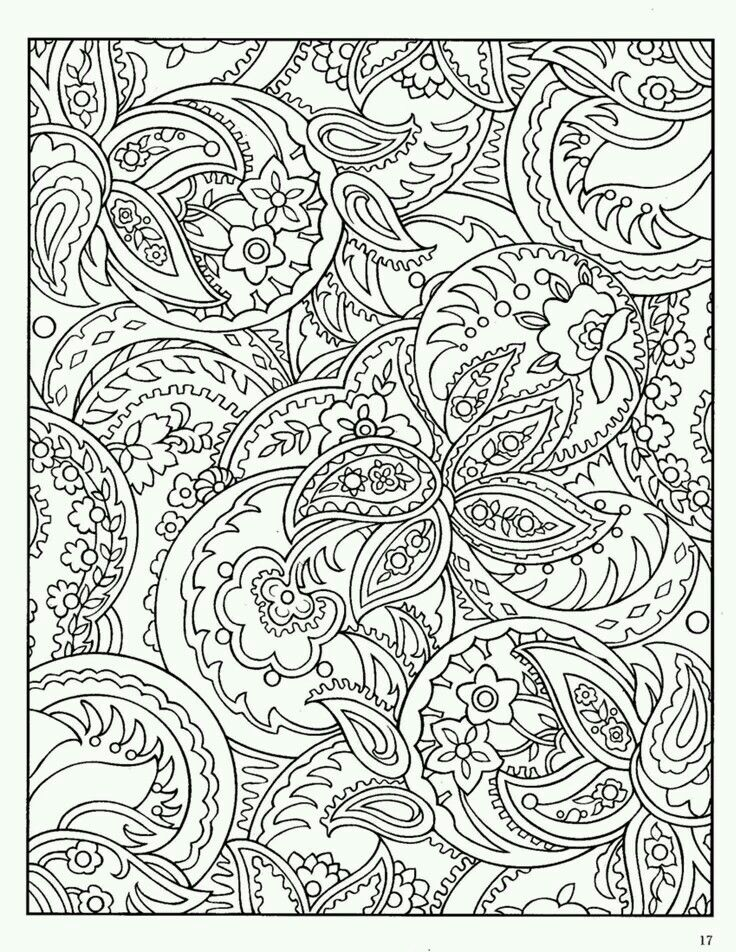mandala para colorear paisley designs color it yourself - Coloring Book Pages Teenagers