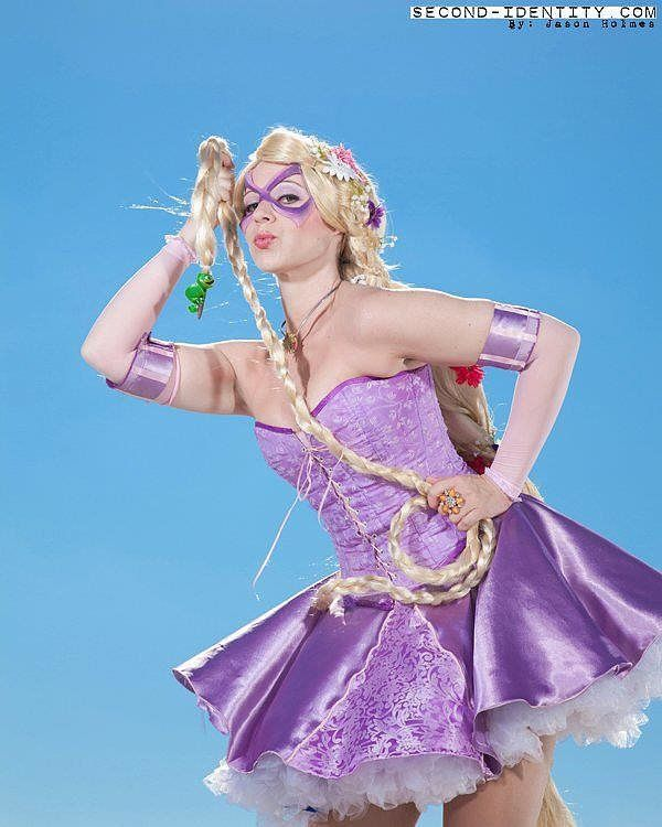 Superhero Rapunzel | Yes, You Can Be a Disney Princess