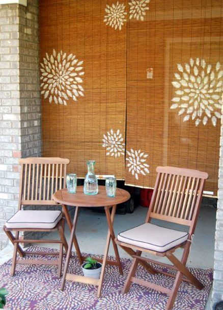 Apartment Balcony Privacy Screen Shades 28 Ideas   Painted ...