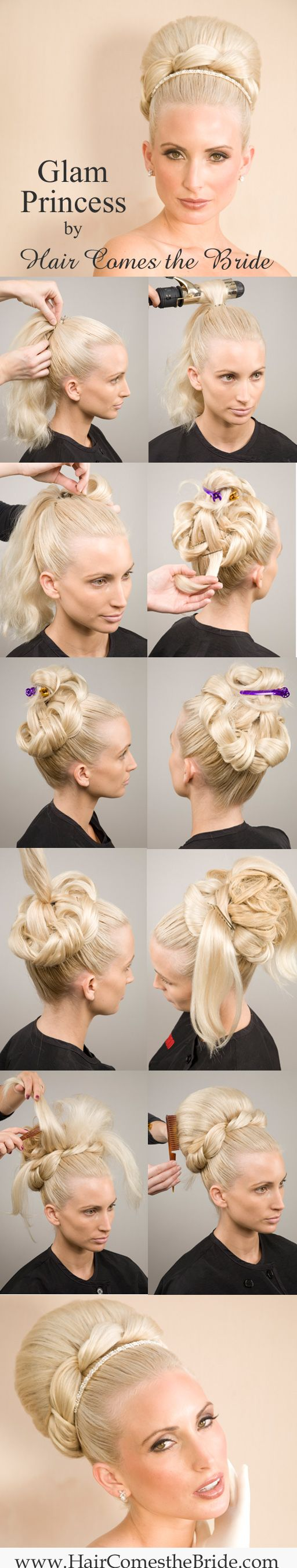 How to by Hair Comes the Bride - Glam Princess