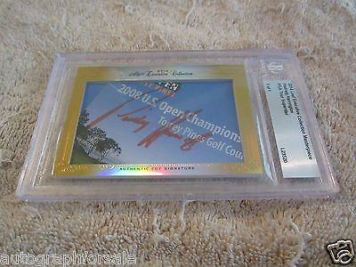 Golf Cards 4240: Padraig Harrington 2014 Leaf Masterpiece Cut Signature Auto Autographed 1 1 Jsa -> BUY IT NOW ONLY: $60.6 on eBay!