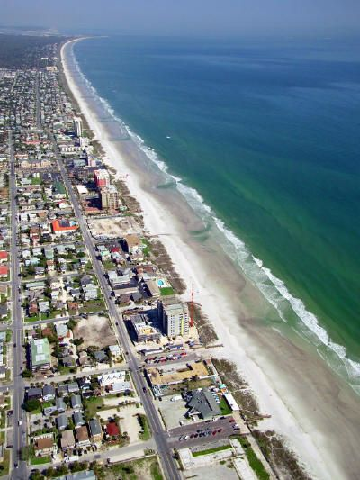 Jacksonville Beach (I'd spend half my days off here partying away at the bars & clubs when I lived in Jacksonville.)